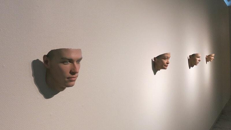 Stranger Visions av Heather Dewey-Hagborg. Omvisning med kurator Hege Tapio v/i/o/lab Senter for Framtidskunst