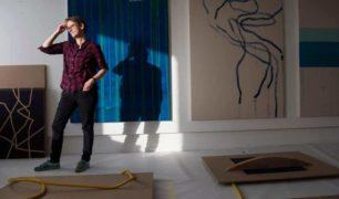 Kunstner Mona Orstad Hansen atelie Tou Scene_Foto Marie von Krogh