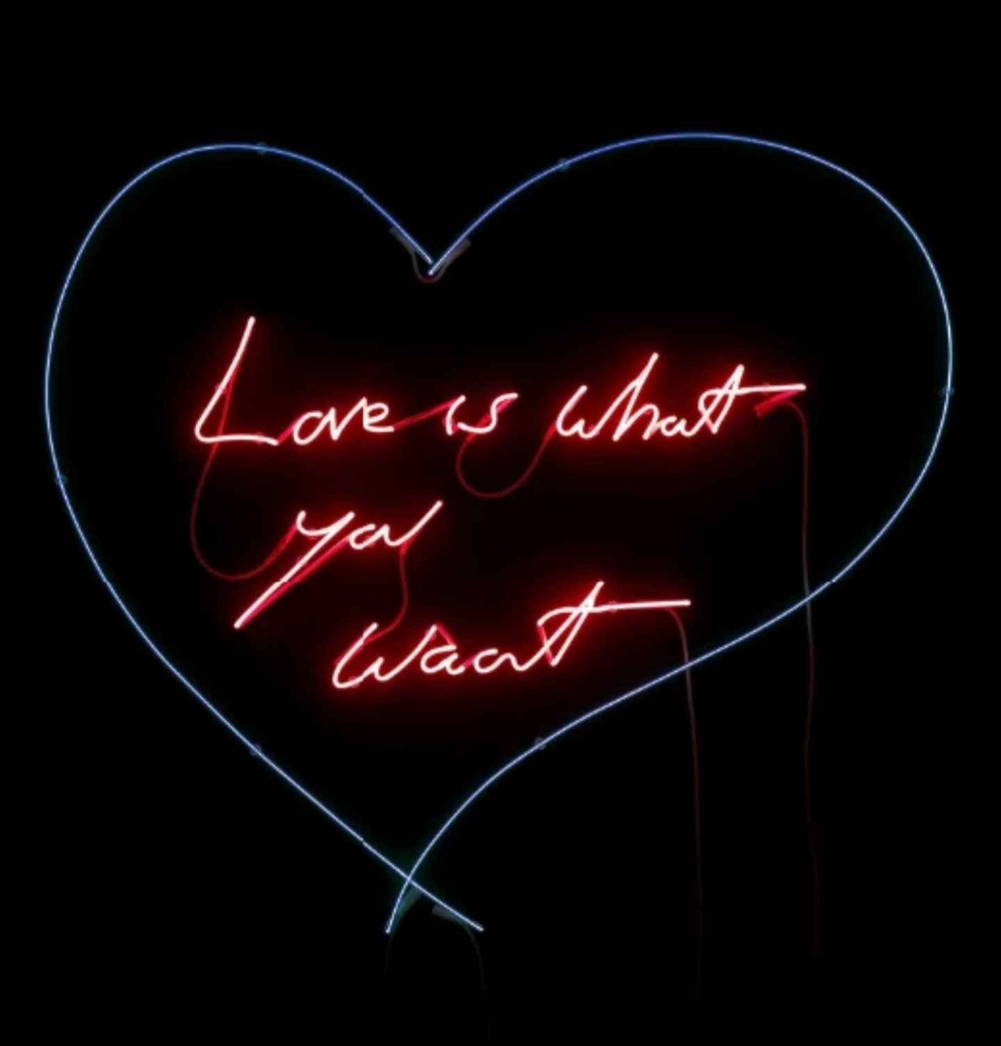 Love is what you want, Tracey Emin